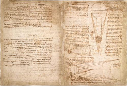 ダ・ヴィンチの手稿